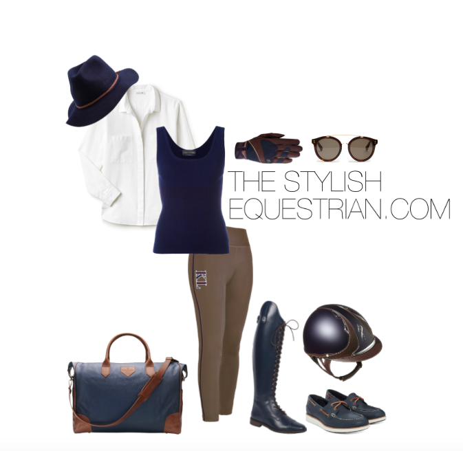 Equestrian off duty