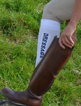Boot sock details